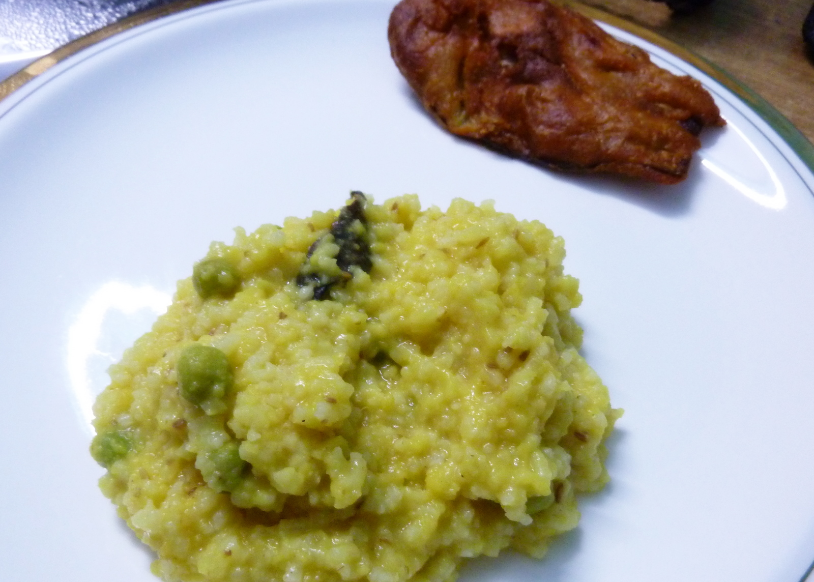 Bengali style moong dal khichuri khichdee beguni recipe moong dal khichdi recipe khichdi is a preparation made from rice ccuart Choice Image