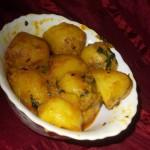 Mint Aloo Recipe