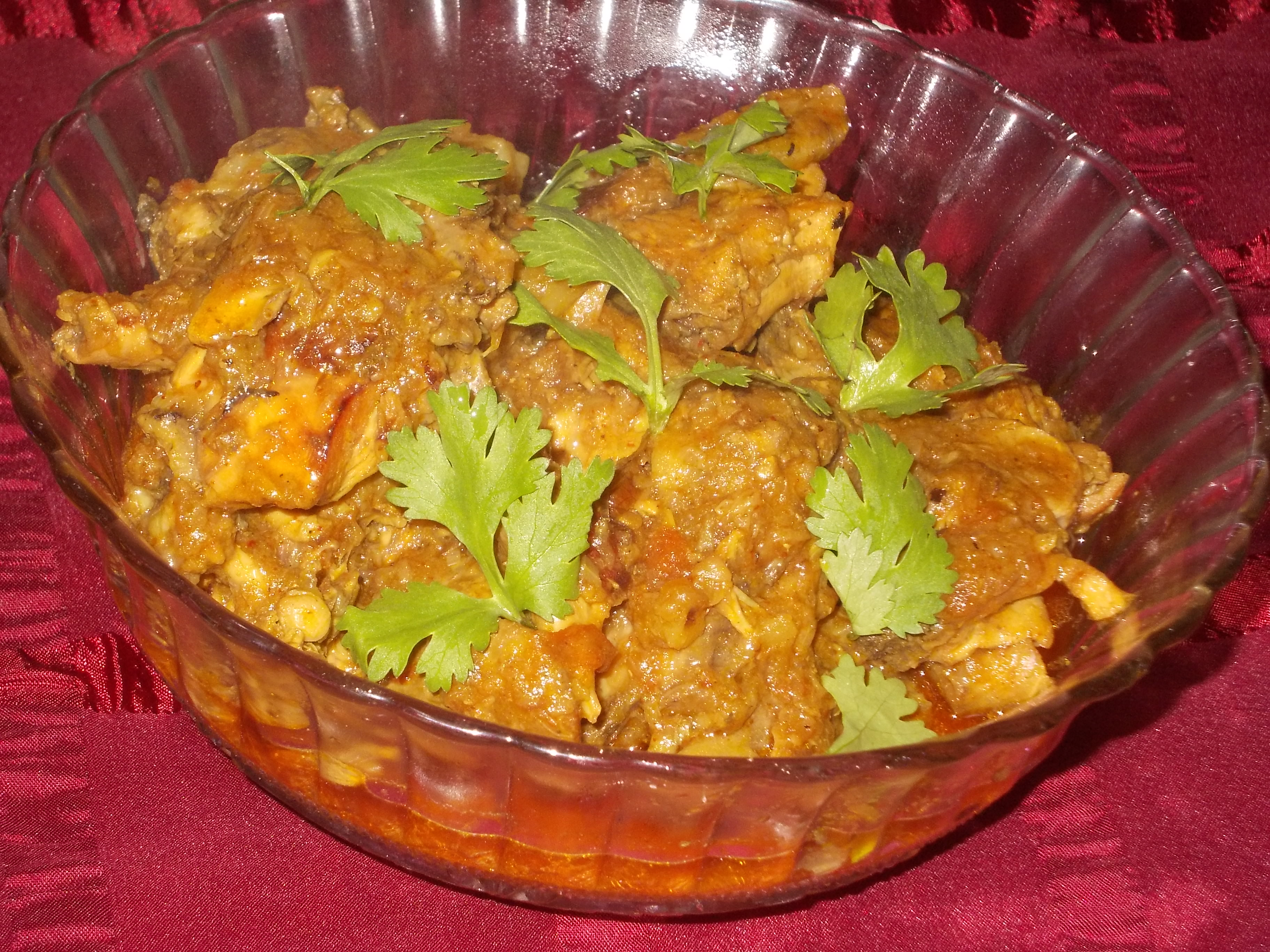 Chicken Kasha Recipe