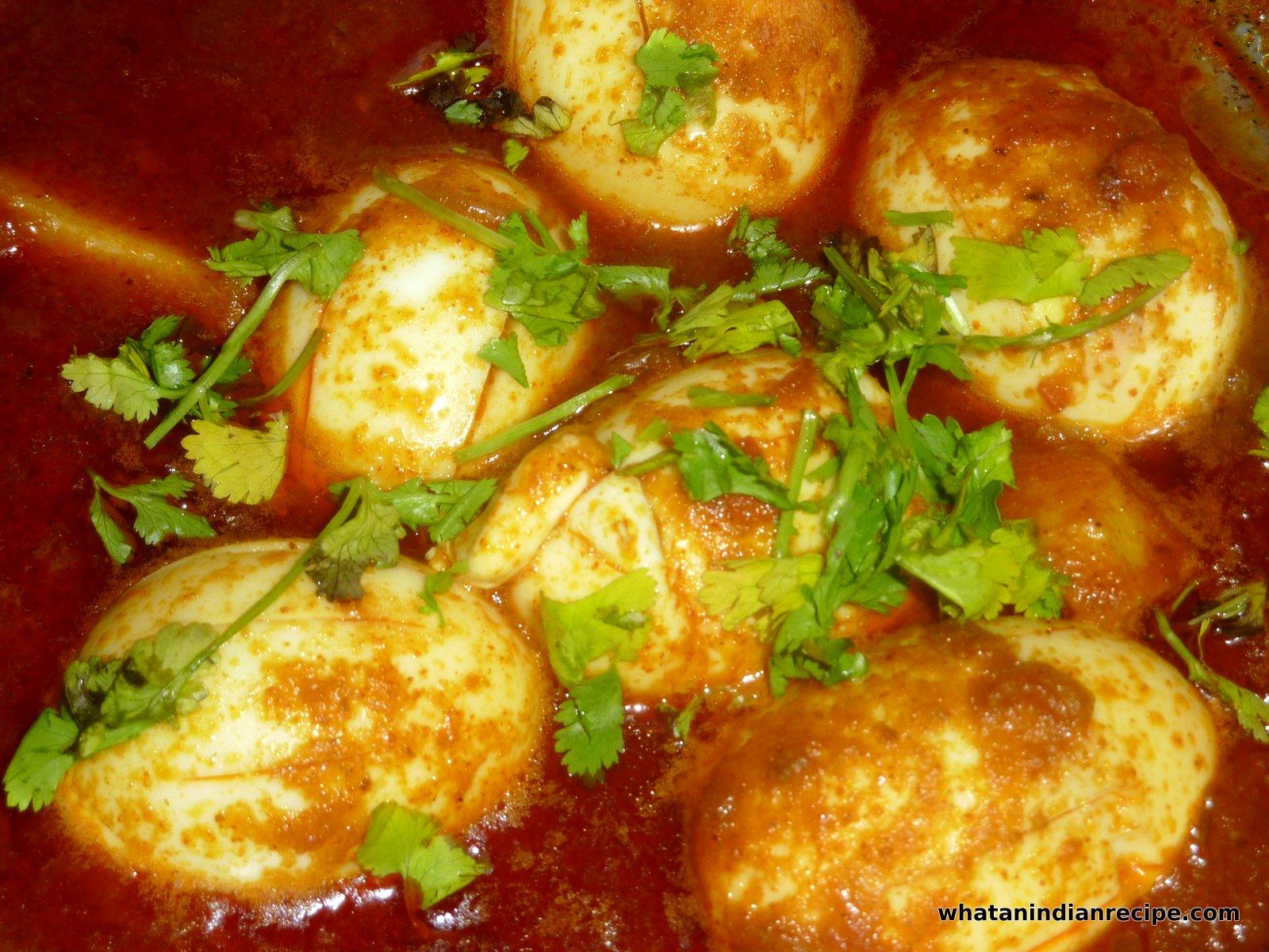Simple Egg Curry Recipe