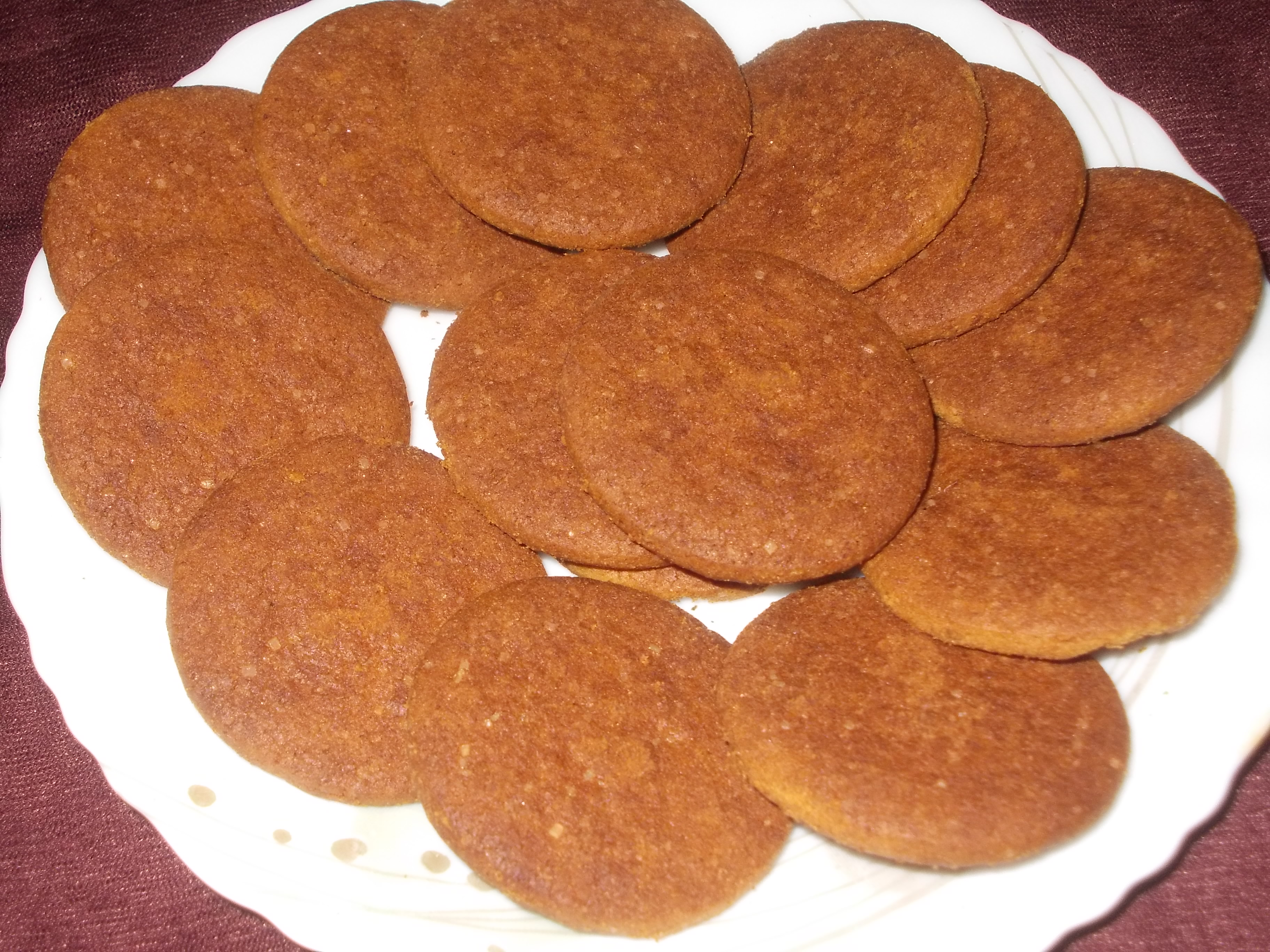Ginger Biscuit Recipe