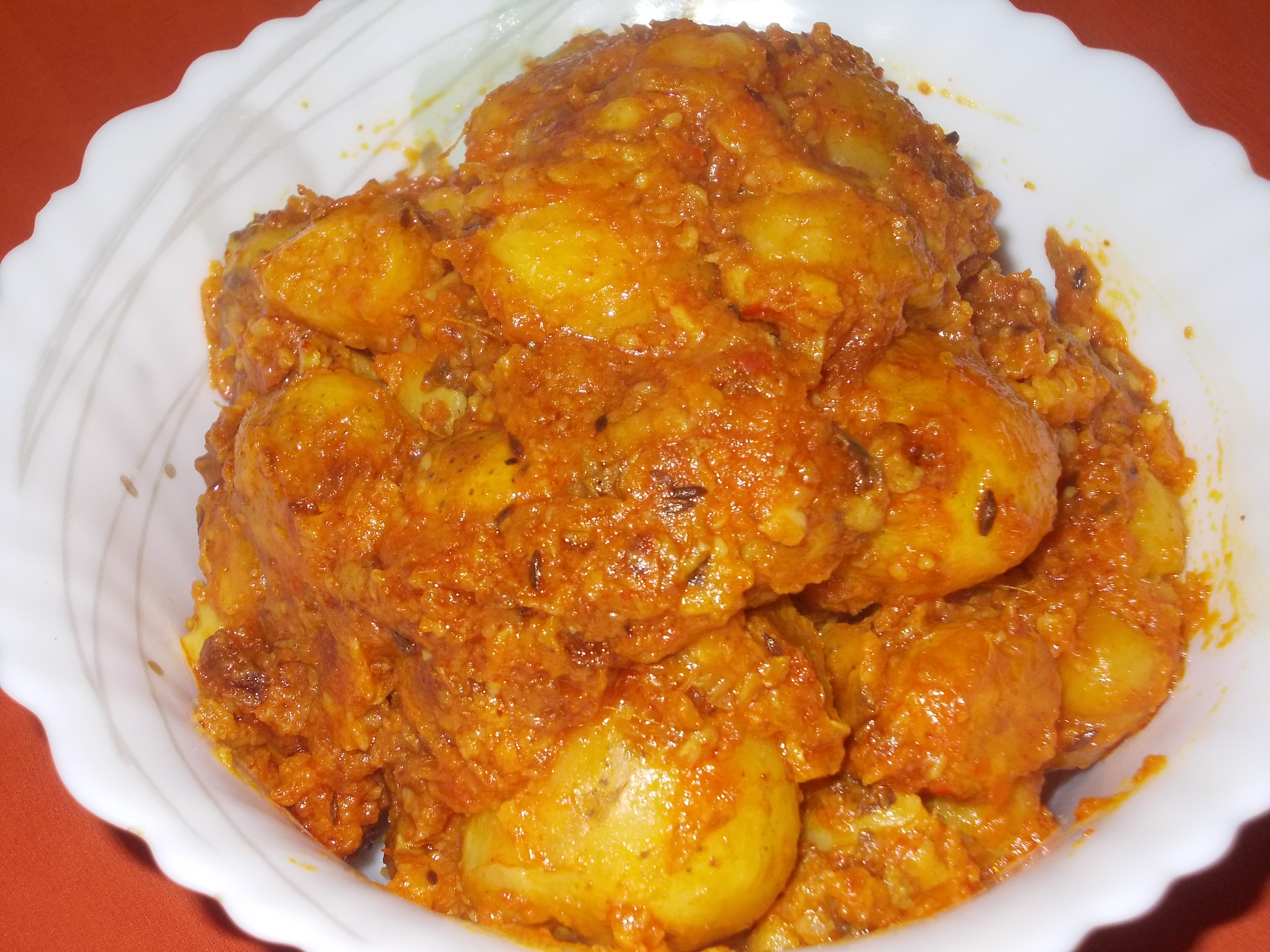 Kashmiri Dum Aloo has its origin in North India. It is a dainty to all ...
