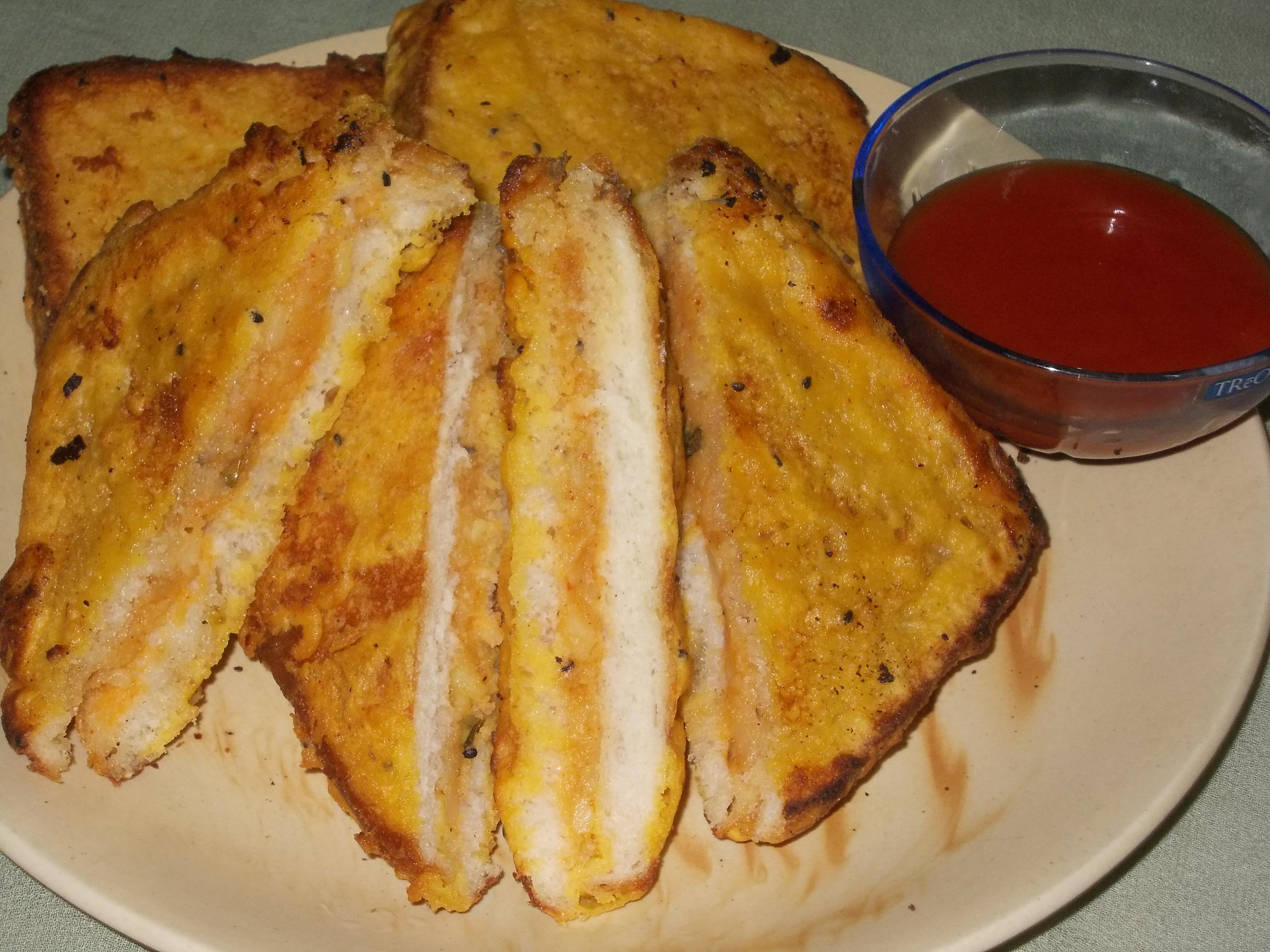 Bread Bonda Recipe