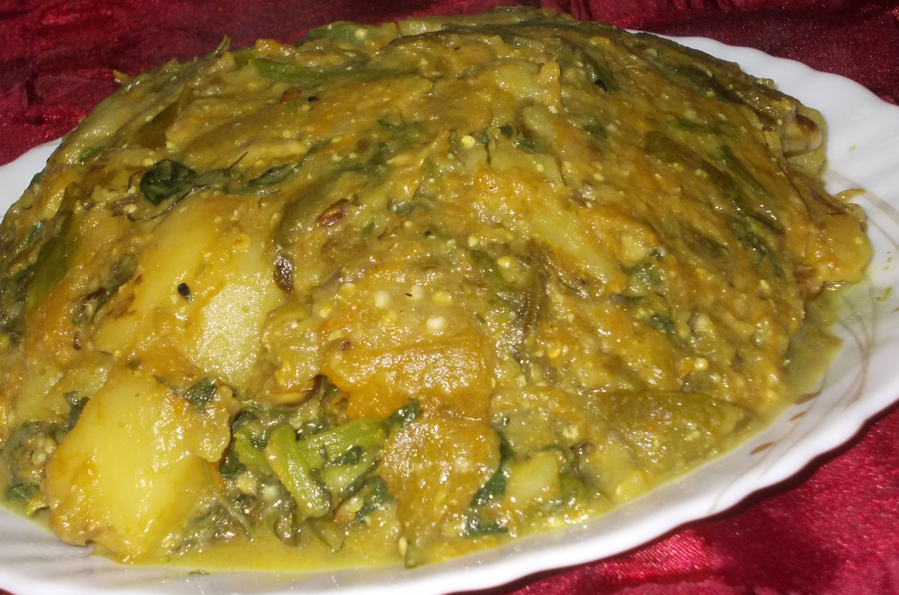 Palak Chorchori Recipe