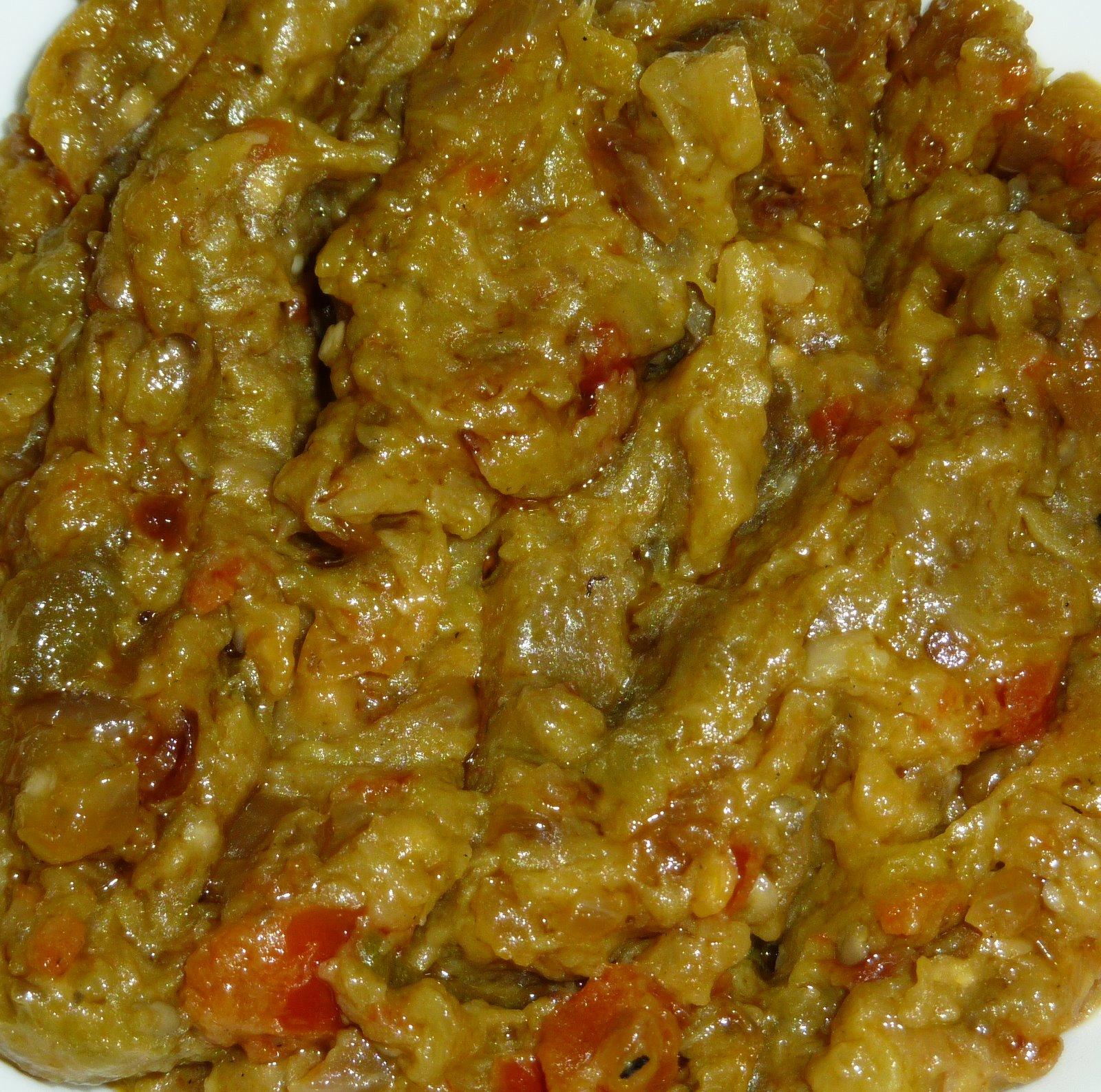 Begun Pora/Roasted Eggplant Recipe