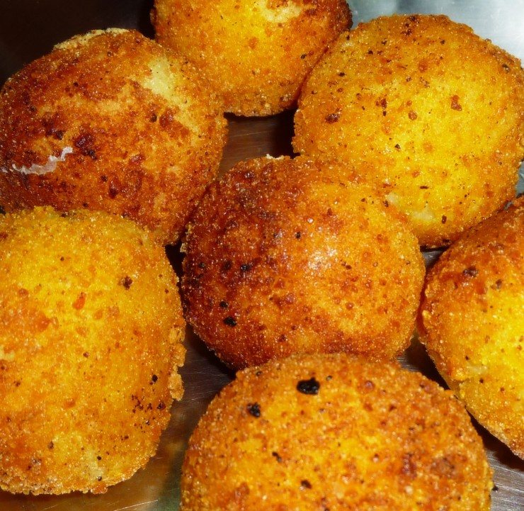 Potato Recipes Potato And Cheese Balls Recipe