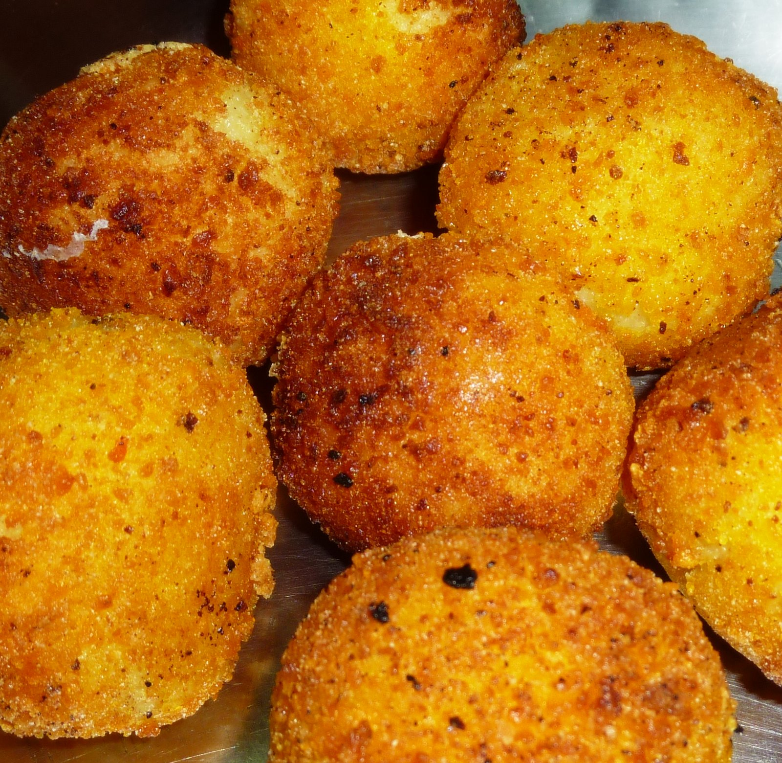 Potato and Cheese Balls Recipe