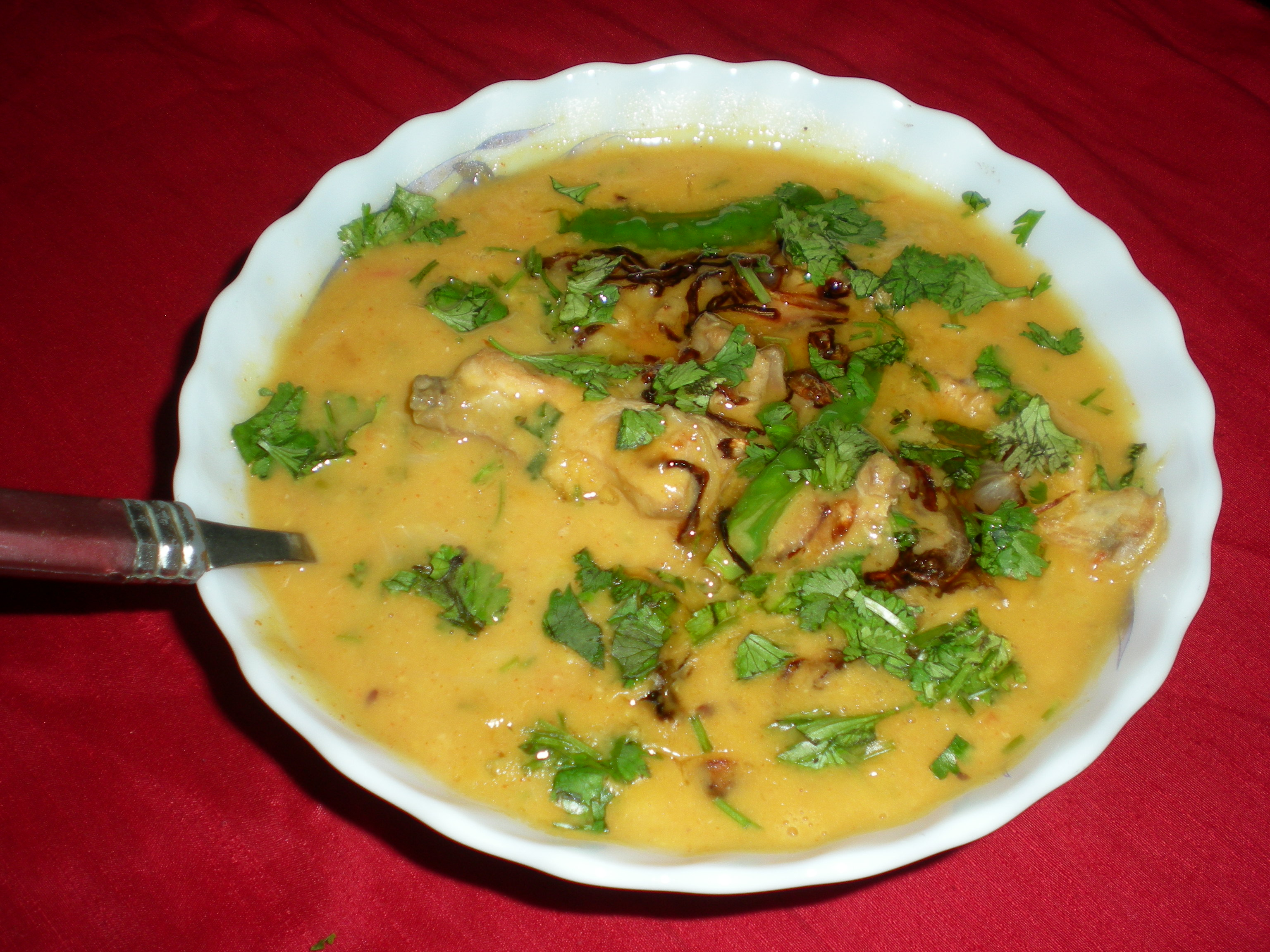 Chicken Tadka Dal Recipe