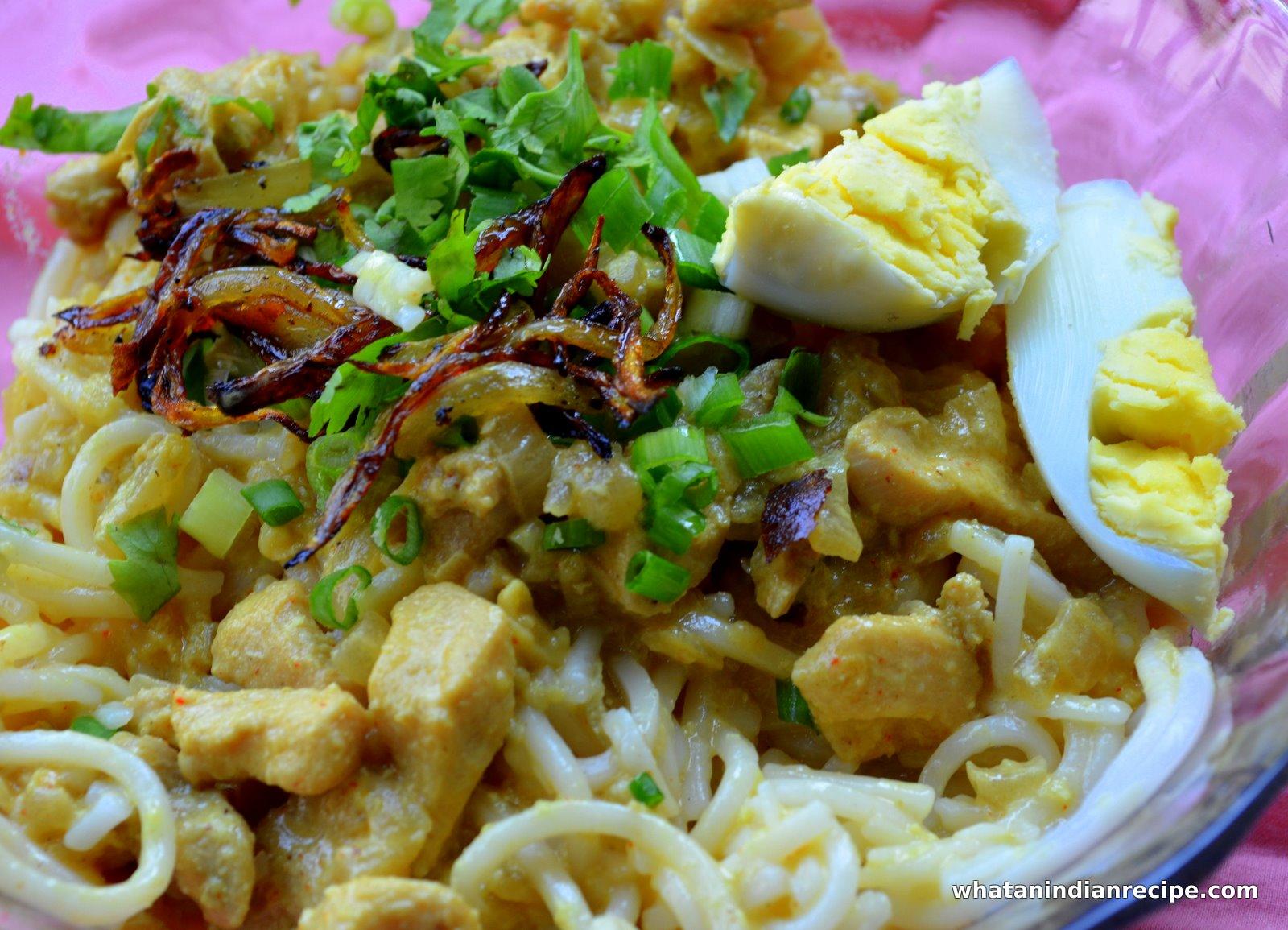Khow Suey Recipe