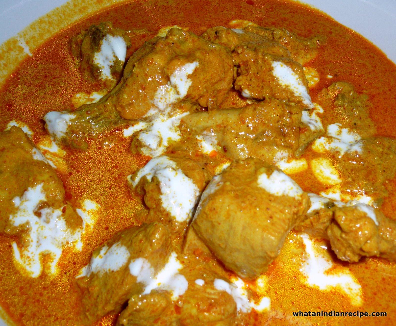 Chicken Butter Masala Recipe