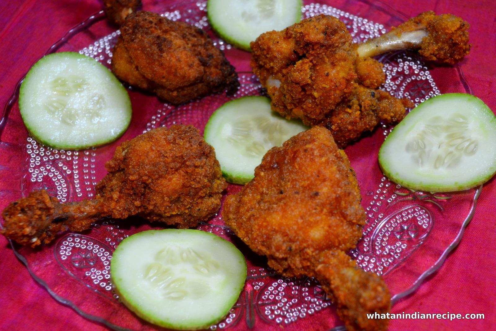 Crunchy Chicken Lollipop Recipe