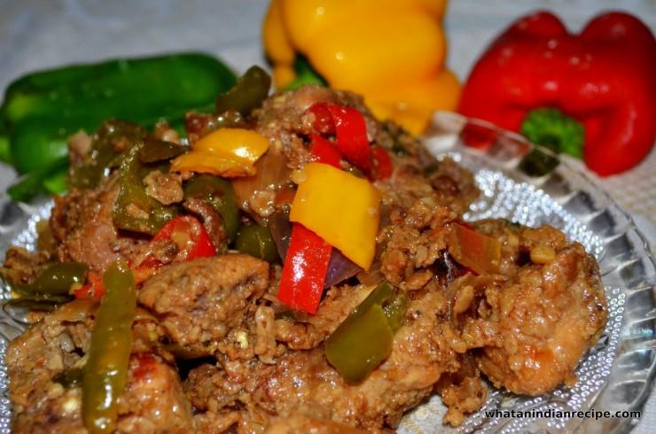 Dry Chilli Chicken Recipe