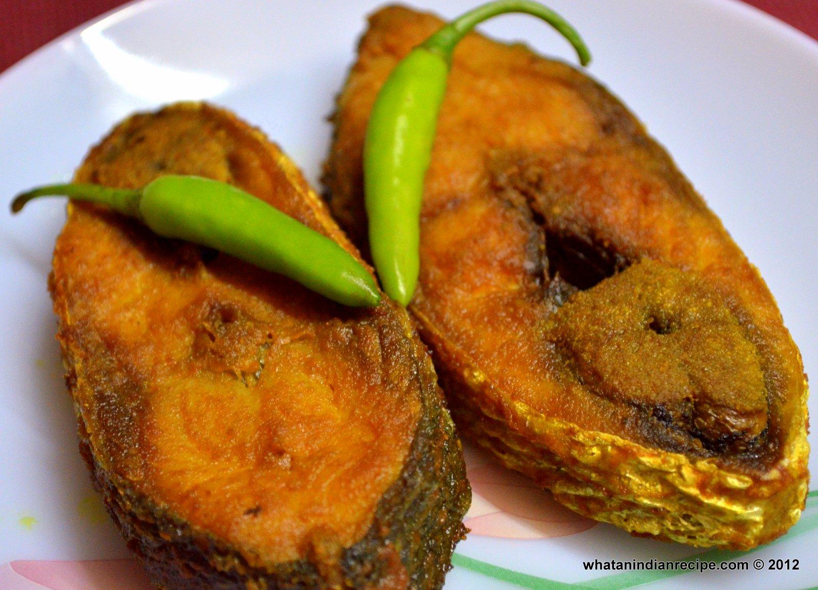 Ilish Bhaja Recipe