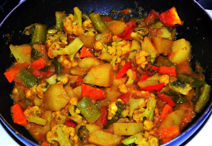 Mixed Sabzi Mixed Vegetable Curry Recipe