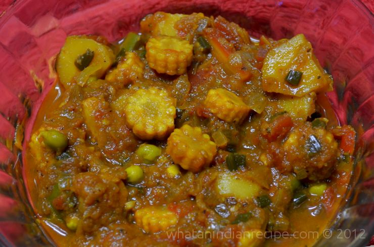 Baby Corn Sabzi Recipe