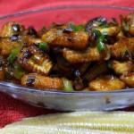 Crispy Chilli Baby Corn Recipe