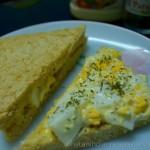 Easy Egg Mayonnaise Sandwich Recipe