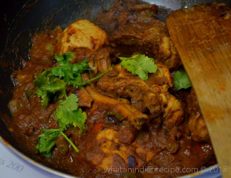 Kadhai Chicken Recipe