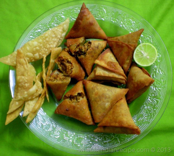 Keema Samosa Recipe