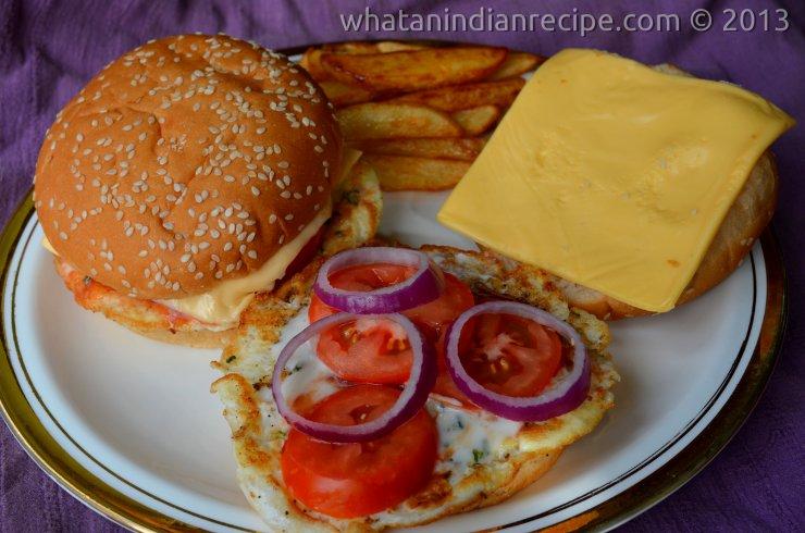 Easy Egg Burger Recipe